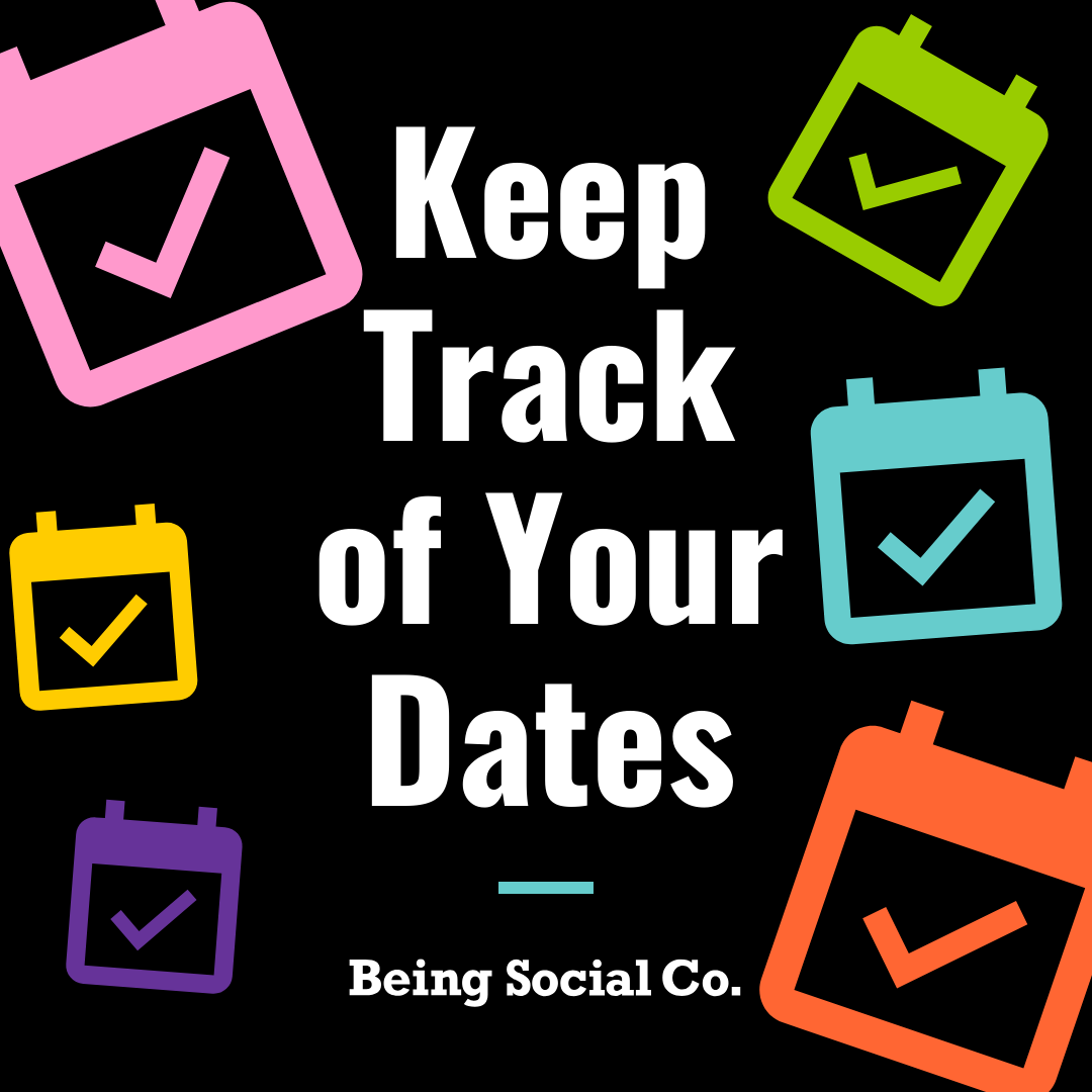 Keep Track of Your Dates